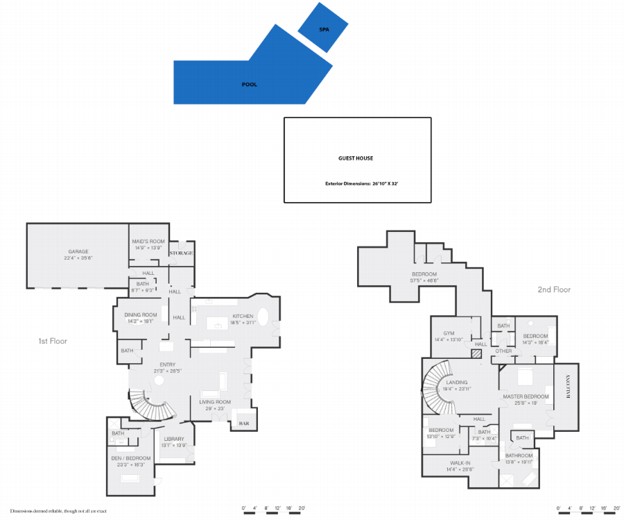 Real Estate Web Solutions Floor Plans